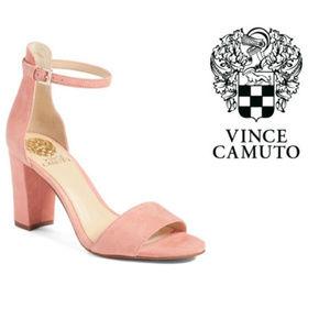 Vince Camuto Pink Ankle Strap Sandals Sz 9.5 NIB